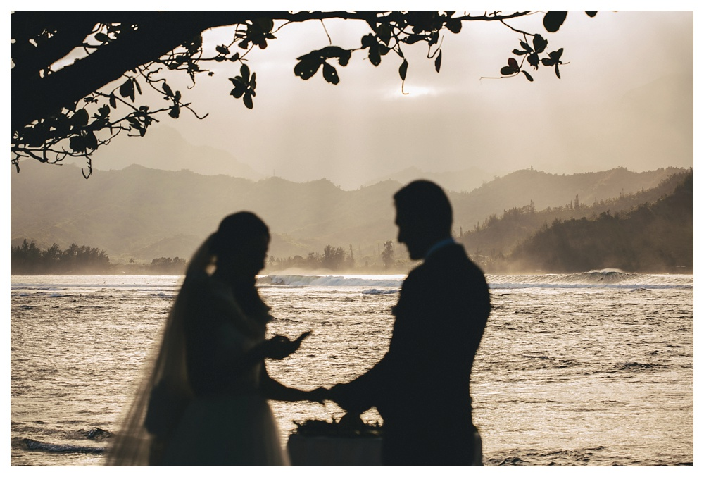 16-DanijelaWeddings-Hawaii-Kauai-wedding-SaintRegis-vows-beach-ocean.JPG