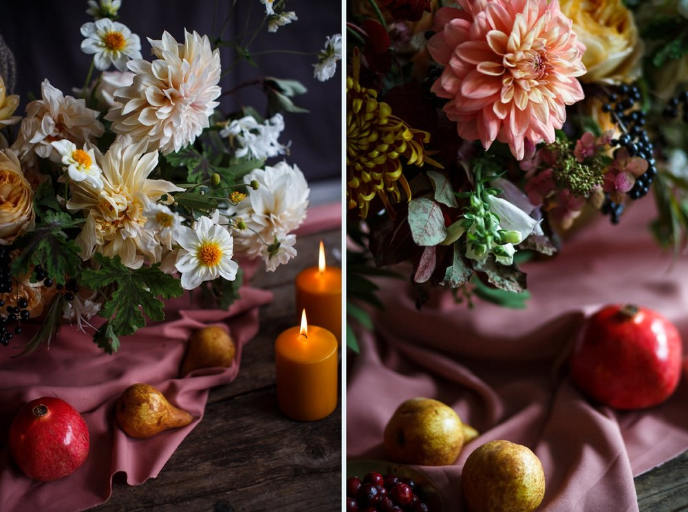 Wedding flowers from Coriander Girl in Toronto.