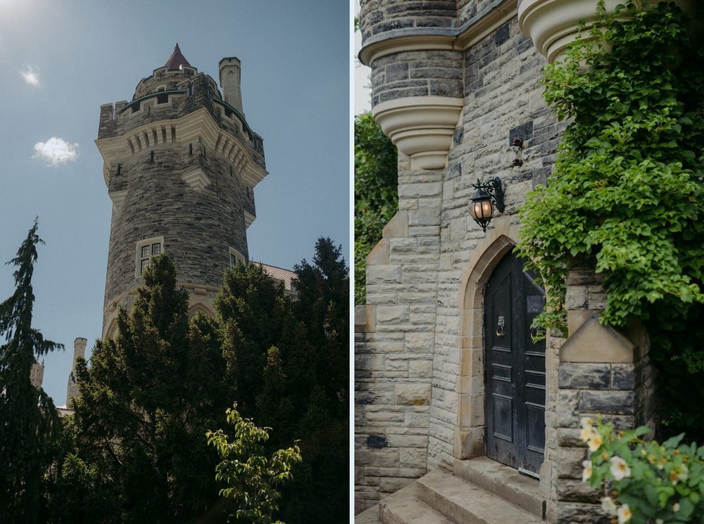Casa Loma castle wedding in Toronto.