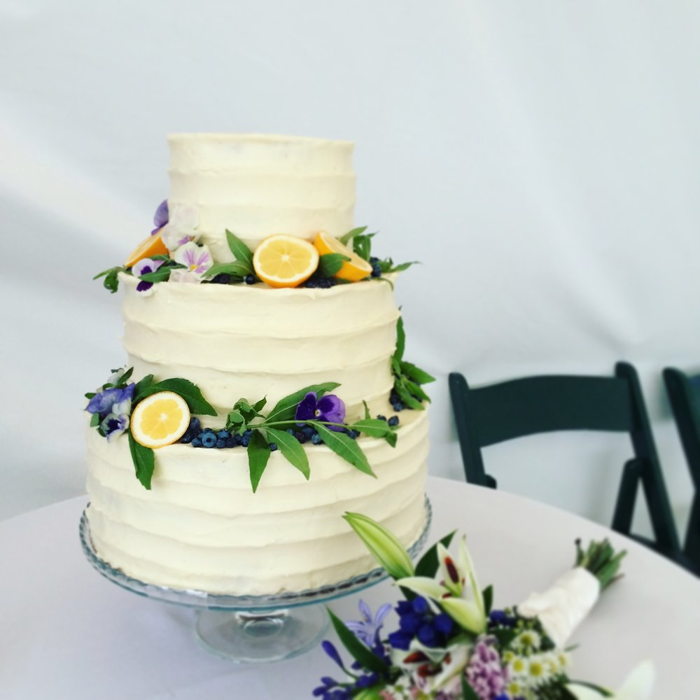 First Wedding Cake Project