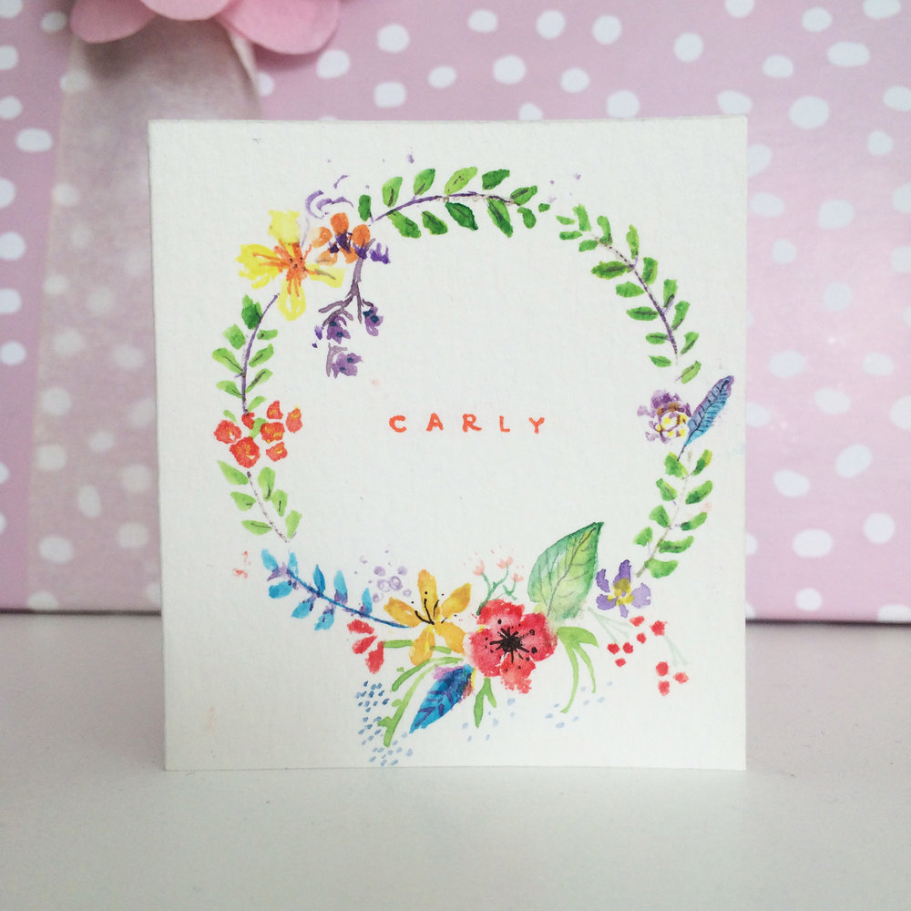 A Card for Carly