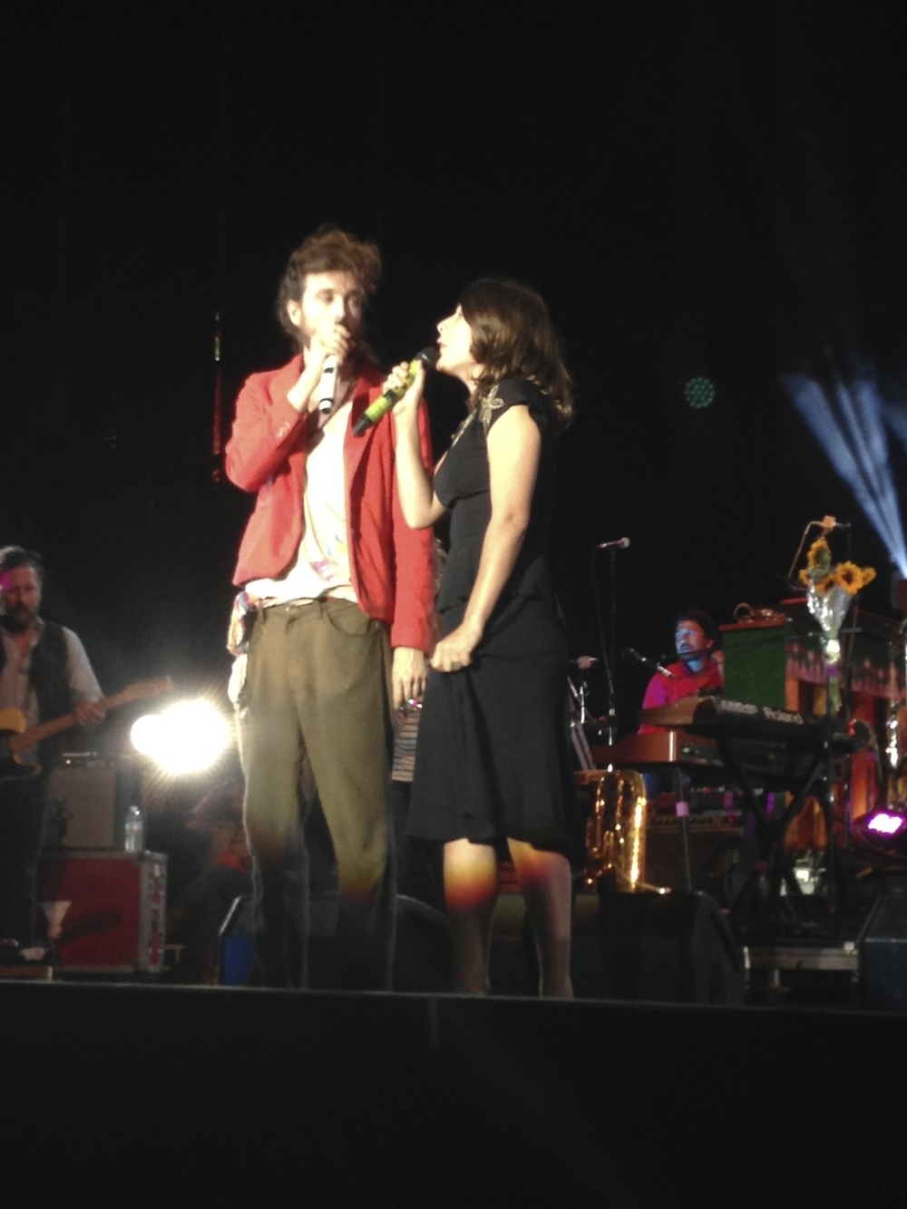 Edward Sharpe and the Magnetic Zeros at America's Cup Pavilion