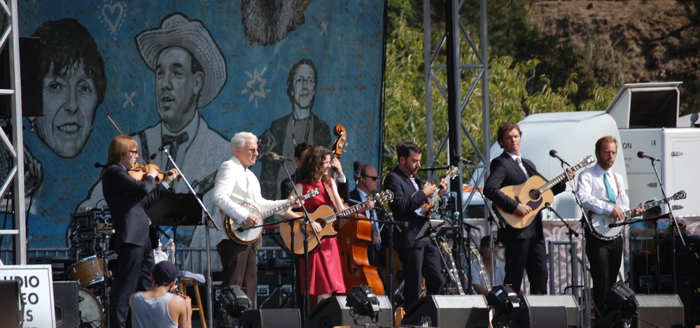 Steve Martin and the Steep Canyon Rangers ft. Edie Brickell at Hardly Strictly Bluegrass Festival