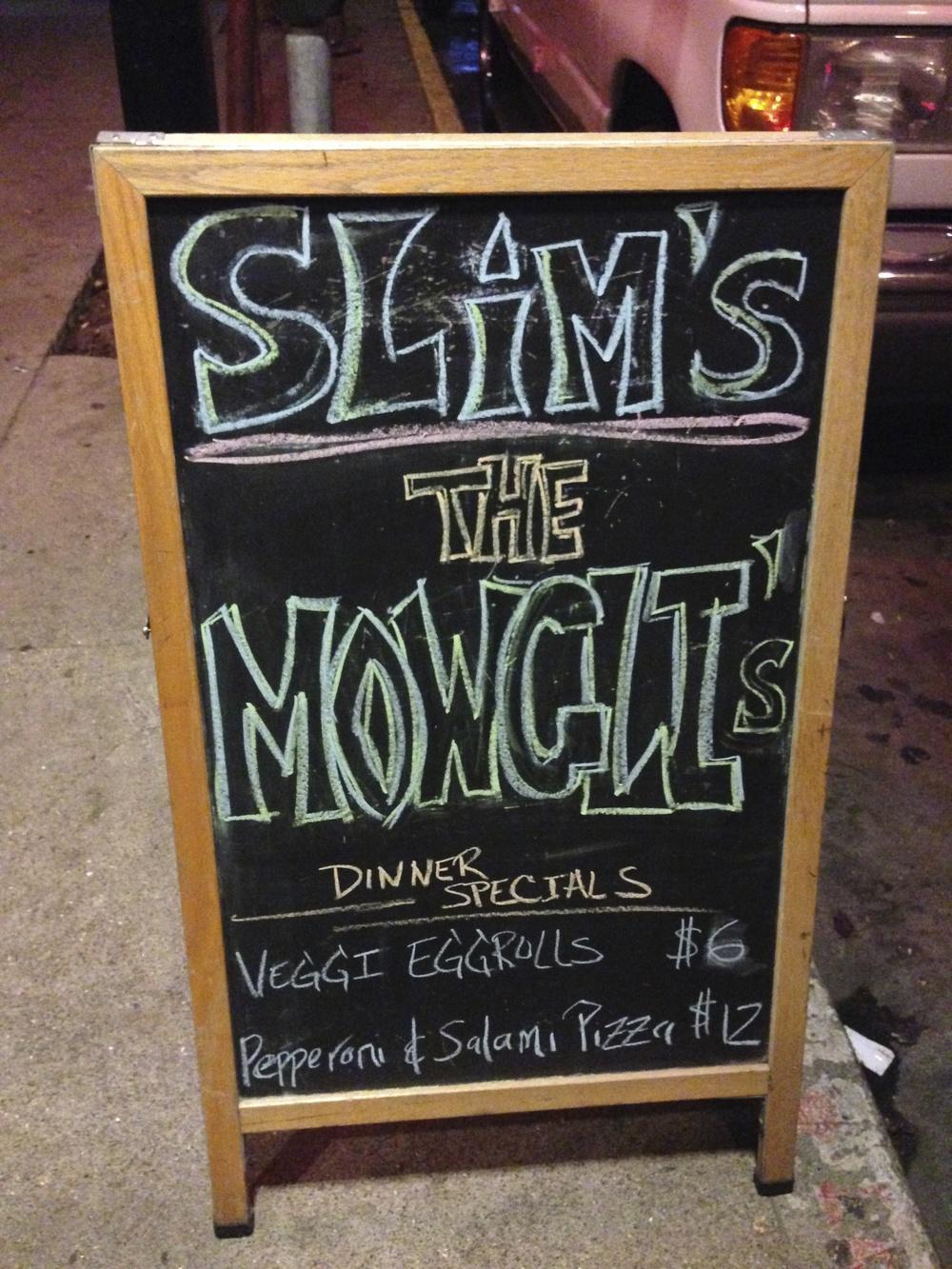 The Mowgli's at Slim's