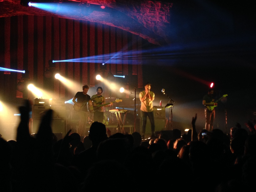 Young the Giant with Cayucas at the Fox Theater