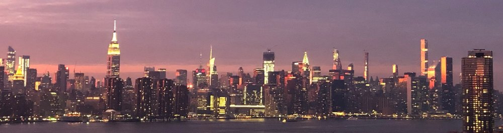 The Manhattan skyline. This beautiful city is a playground for kinky people. I love the NYC femdom scene.