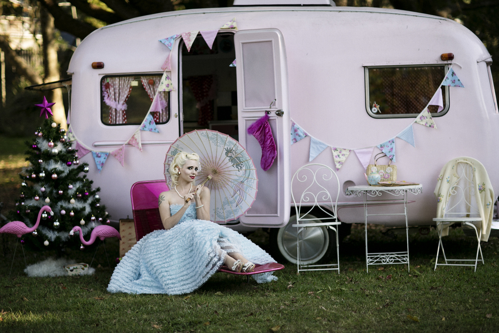 Model vintage caravan and flamingo.jpg