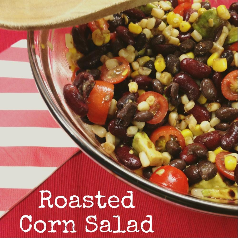 Roasted Corn Salad - Chef Shayna
