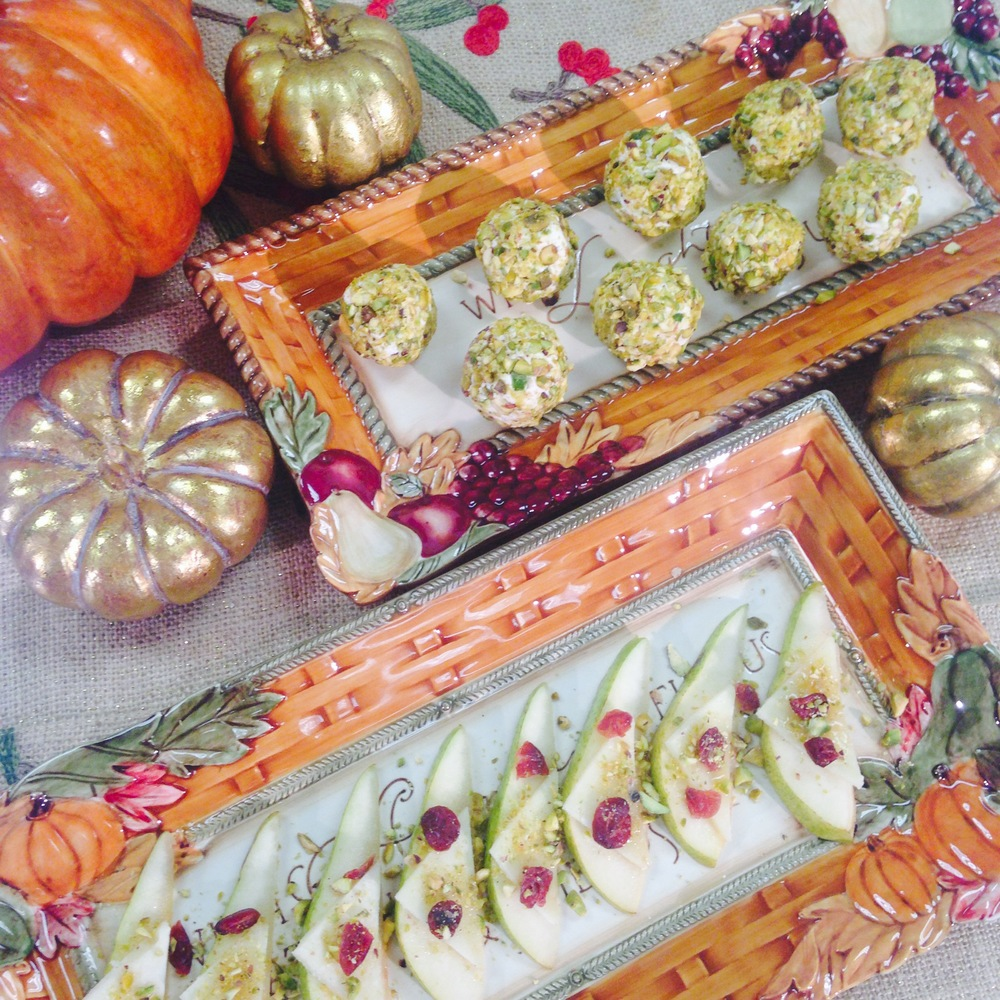 Fall Pistachio Inspired Appetizers