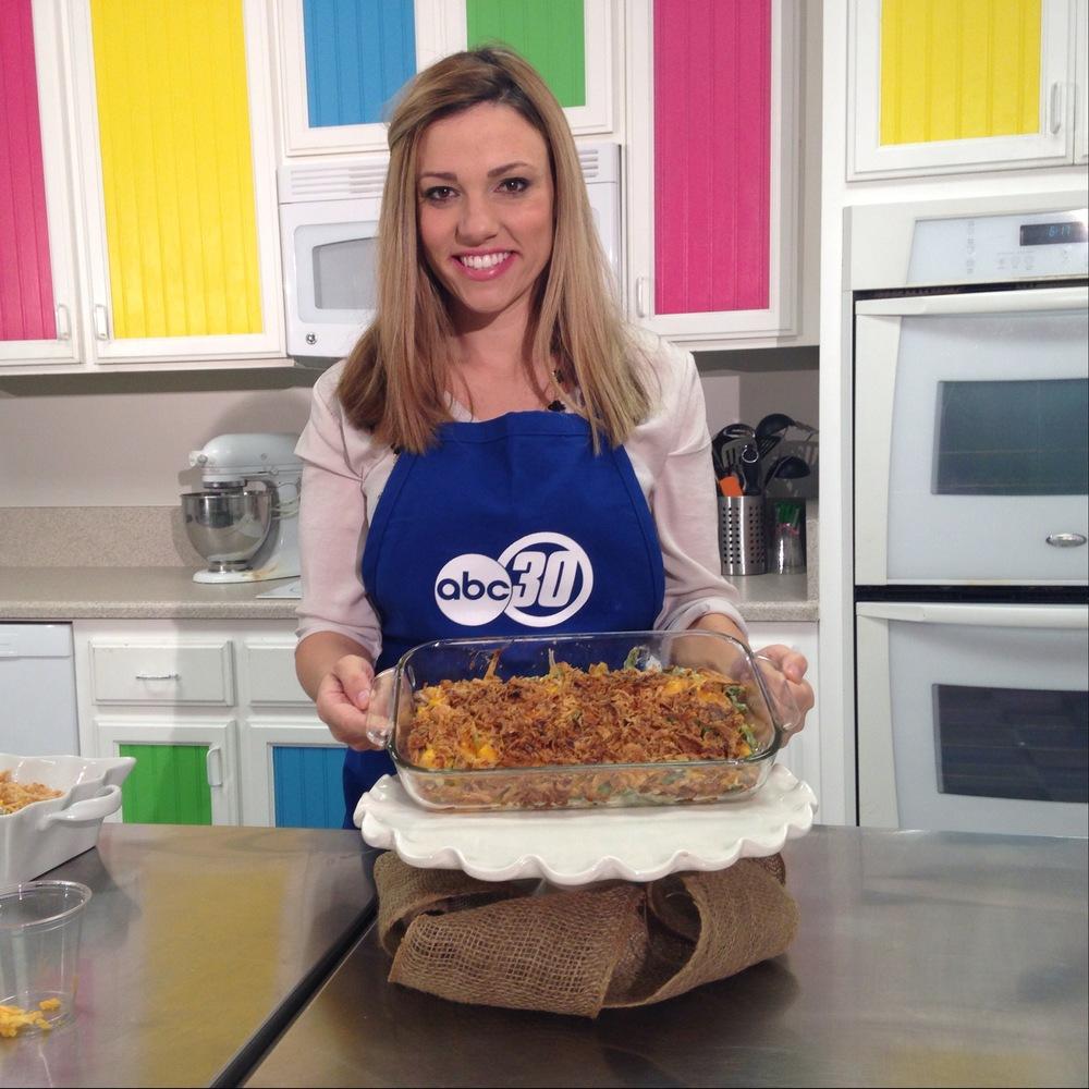 Chef Shayna Green Bean Casserole