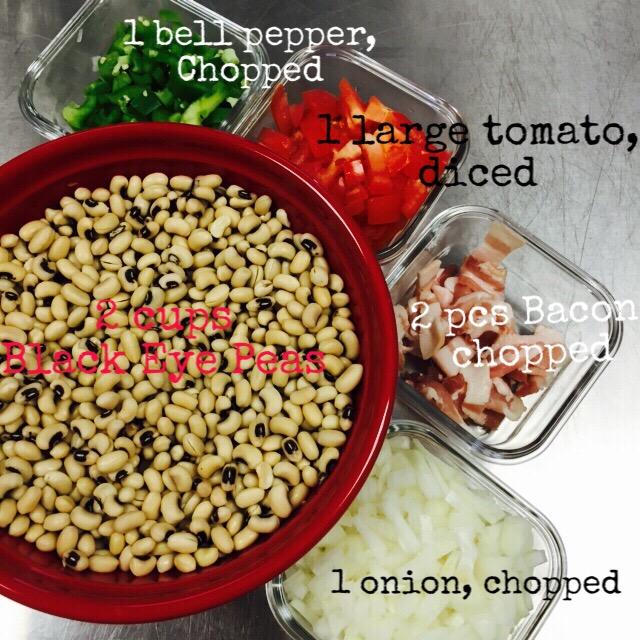 black eye pea ingredients