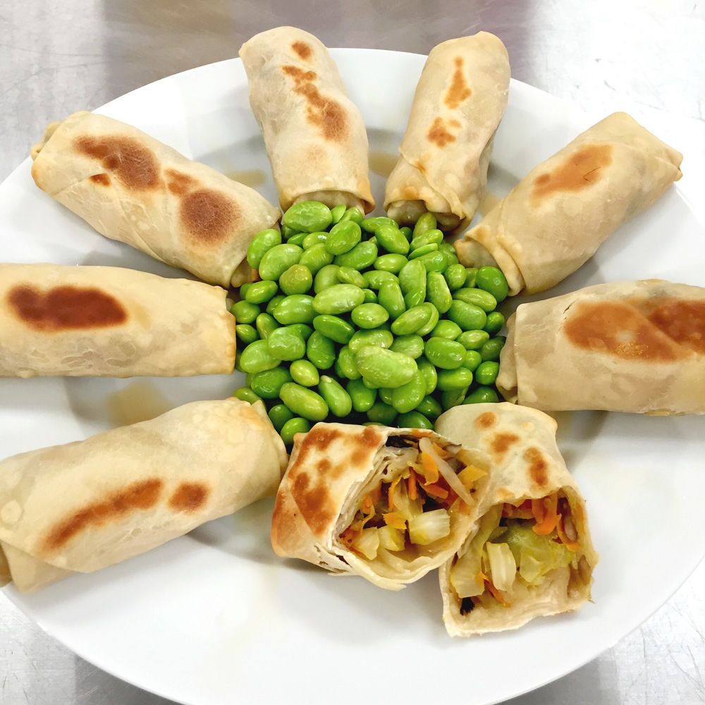 Vegetable Spring Rolls that your kids will love to make & eat!- ChefShayna.com