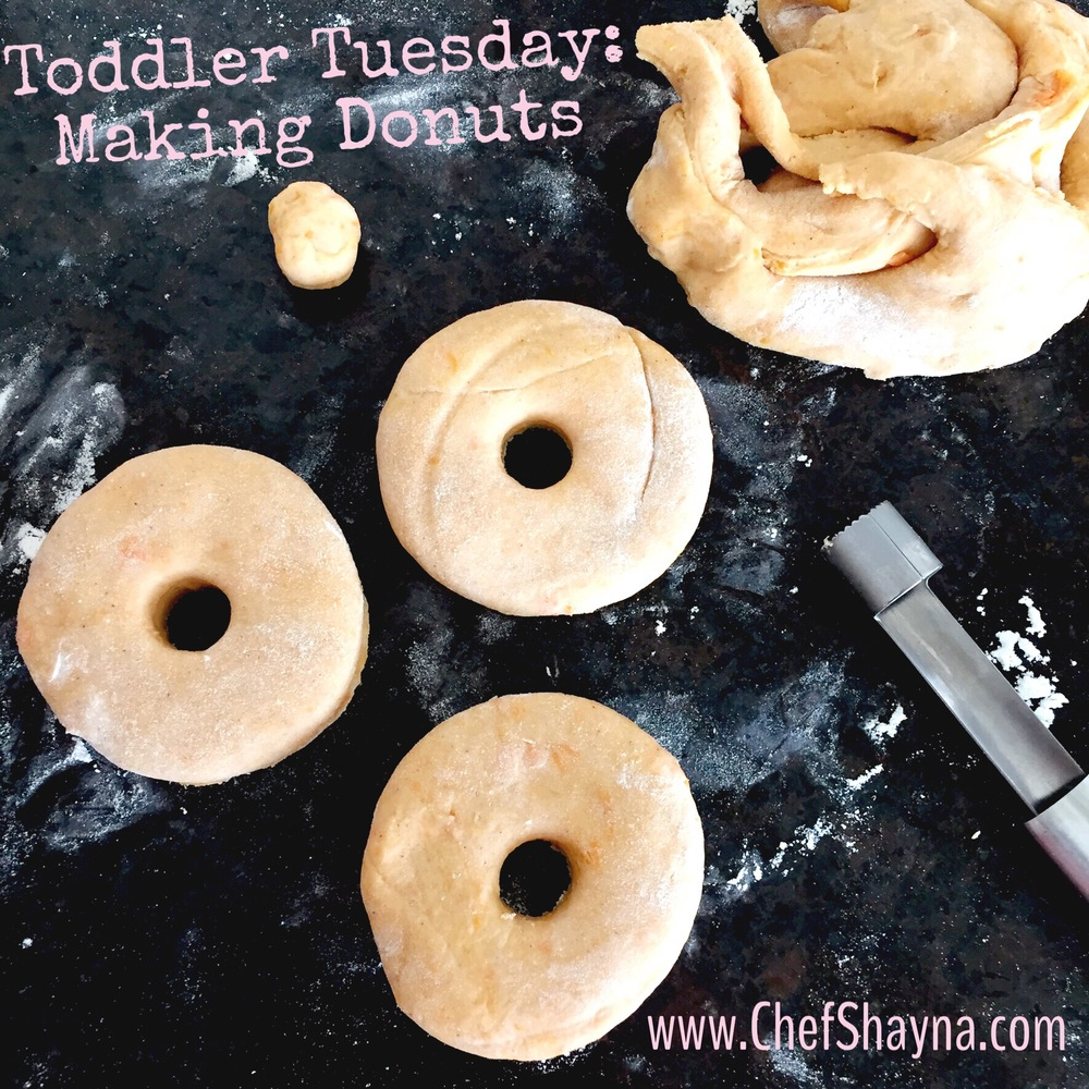 Toddler Tuesday: D is for Donut