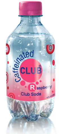 Caffeinated Club Soda in a variety of flavors to add a kick to your mixed drinks. ChefShayna.com