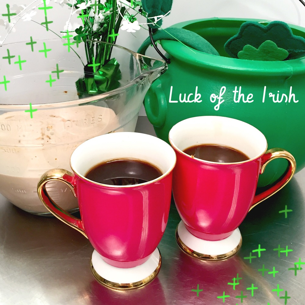 Wake up to the Luck of the Irish with homemade Irish Coffee Creamer- recipe and tutorial on www.ChefShayna.com