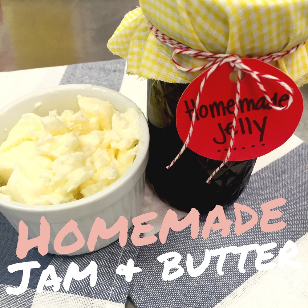 Kitchen experiments: Make your own Jam & Butter. Directions on ChefShayna.com