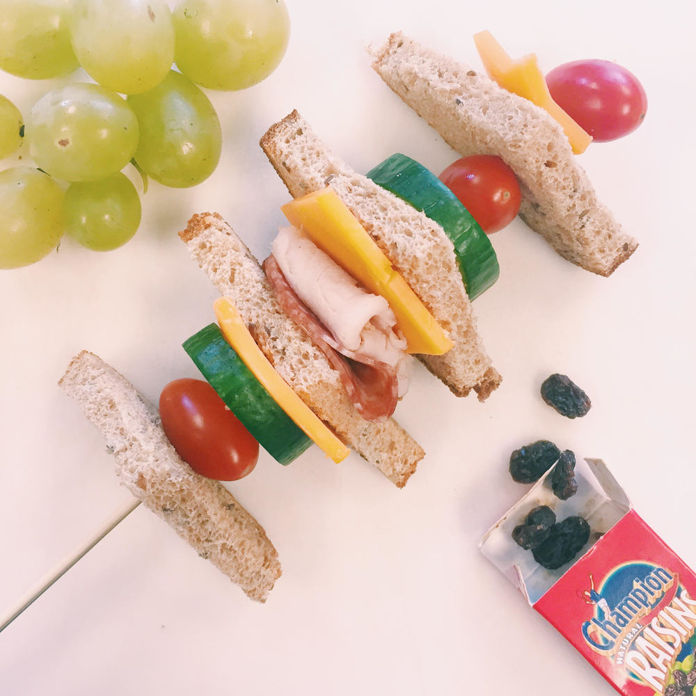 Sandwich on a stick