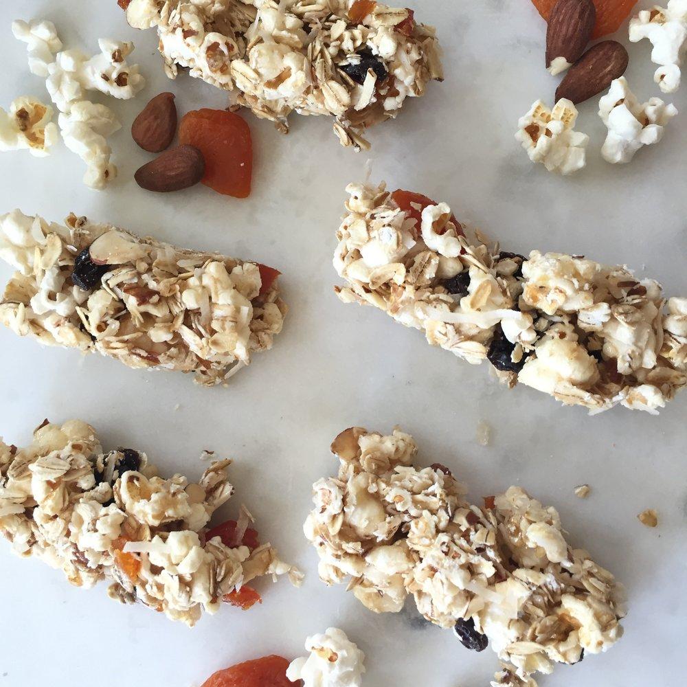Popcorn Snack Bars to celebrate CA's birthday