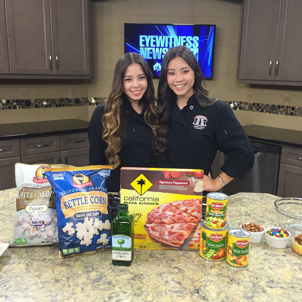 Sisters, Chef Brooke & Chef Morgan share CA products this morning on CBS47
