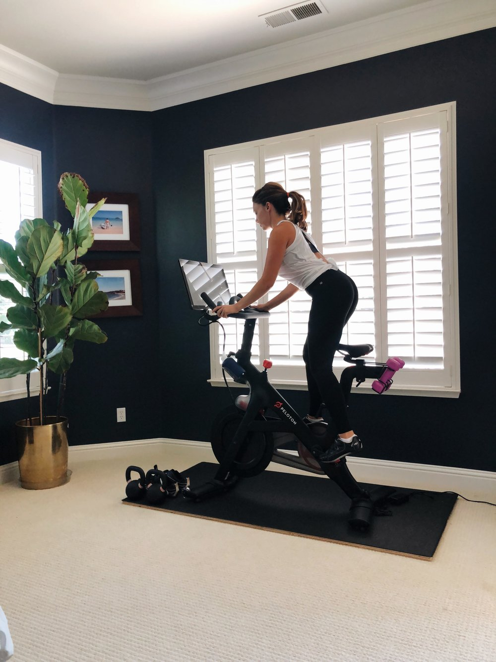 Why I love my Peloton- a full review on www.ChefShayna.com