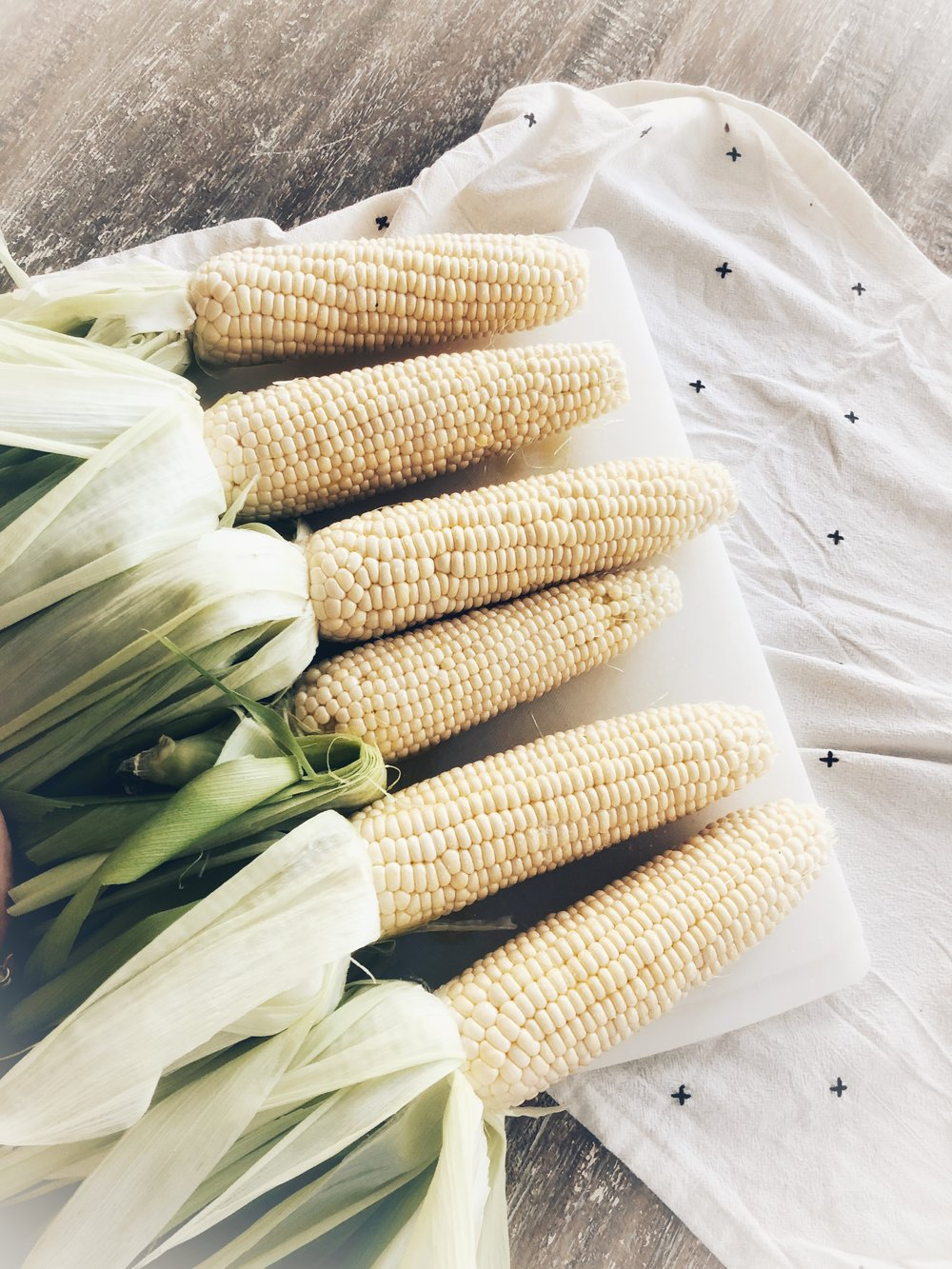 Summer Corn. How to grill it and a few recipes to make with it. www.ChefShayna.com