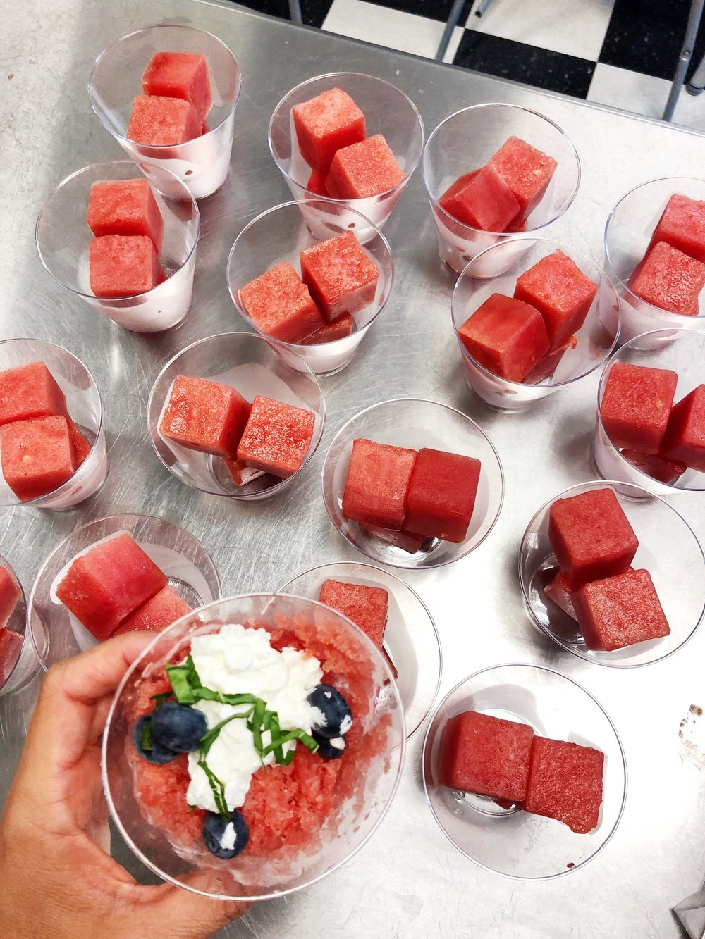 Watermelon Granita... a great dessert to enjoy without feeling guilty. www.ChefShayna.com