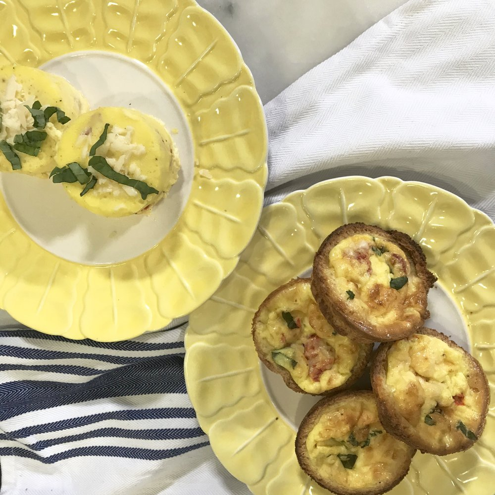 Easy Egg Muffins for Back to School Breakfast. Ideas for inviting kids into the kitchen. www.ChefShayna.com