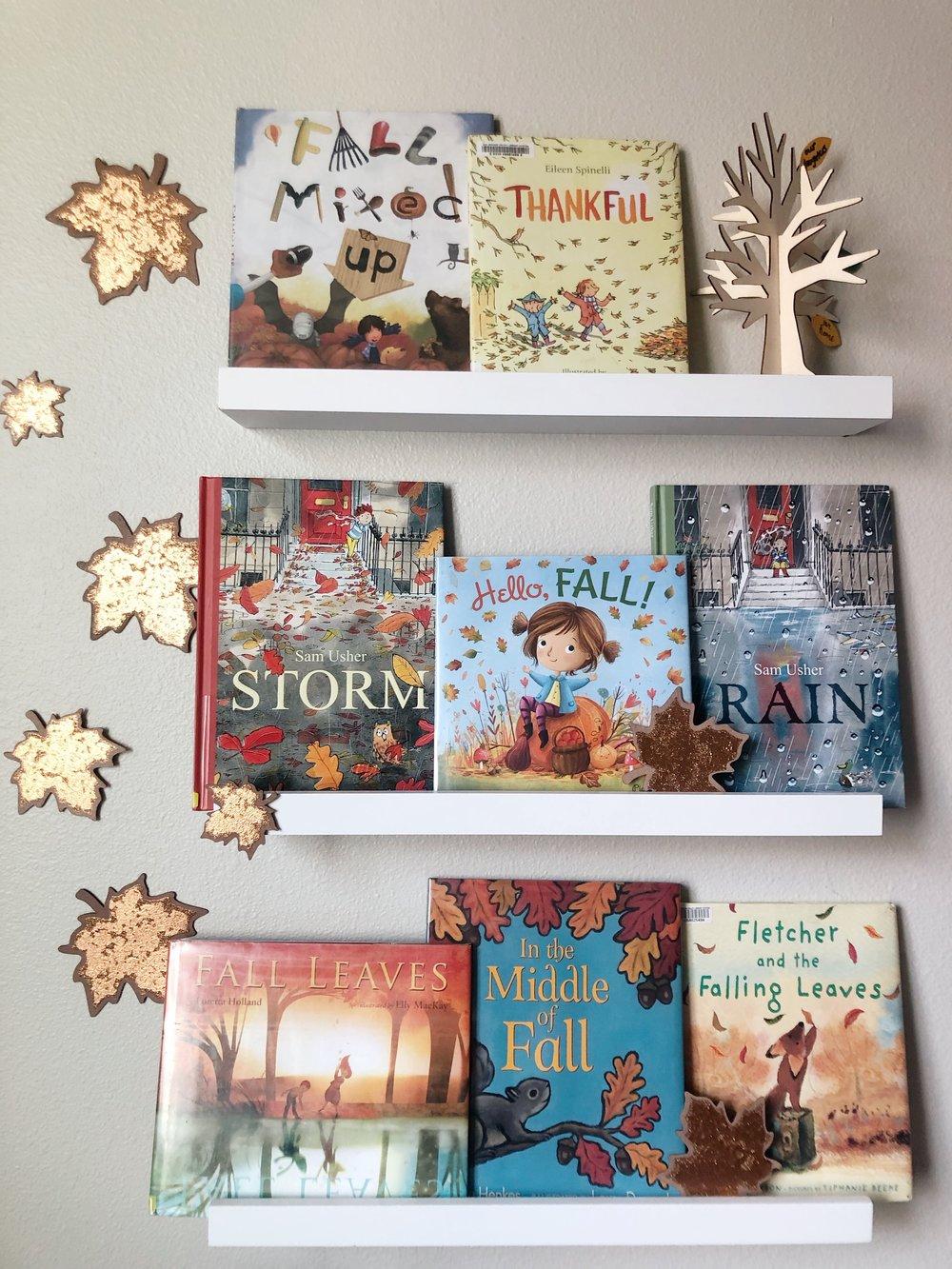 Fall Books & bites. www.chefShayna.com