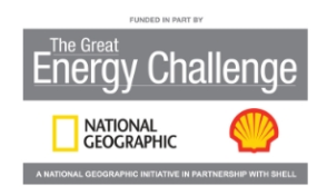 Winner National Geographic Great Energy Challenge Grant