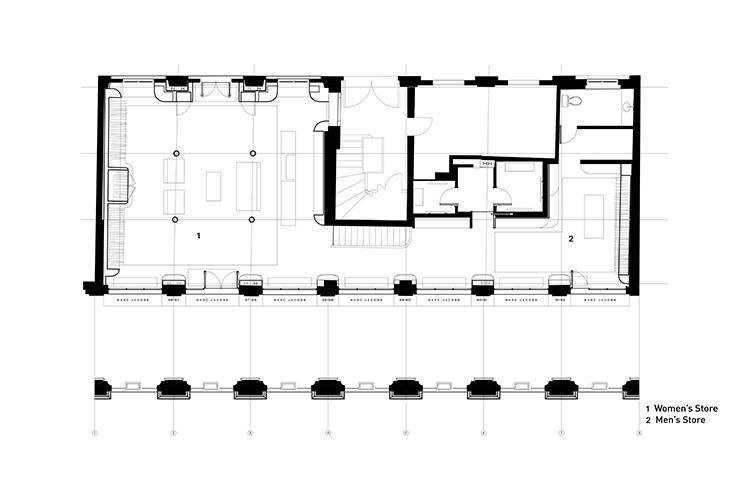 8bbdb15ffe577 Marc Jacobs Paris — ALEXANDER JERMYN ARCHITECTURE