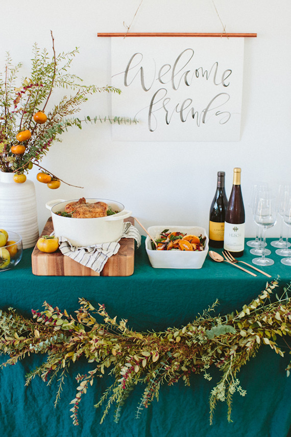 Inspriation from  100layercake  and their Friendsgiving shoot with Crate & Barrel.