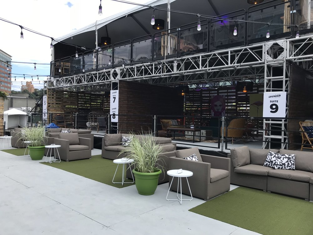 Upstream Music Fest vip lounge -