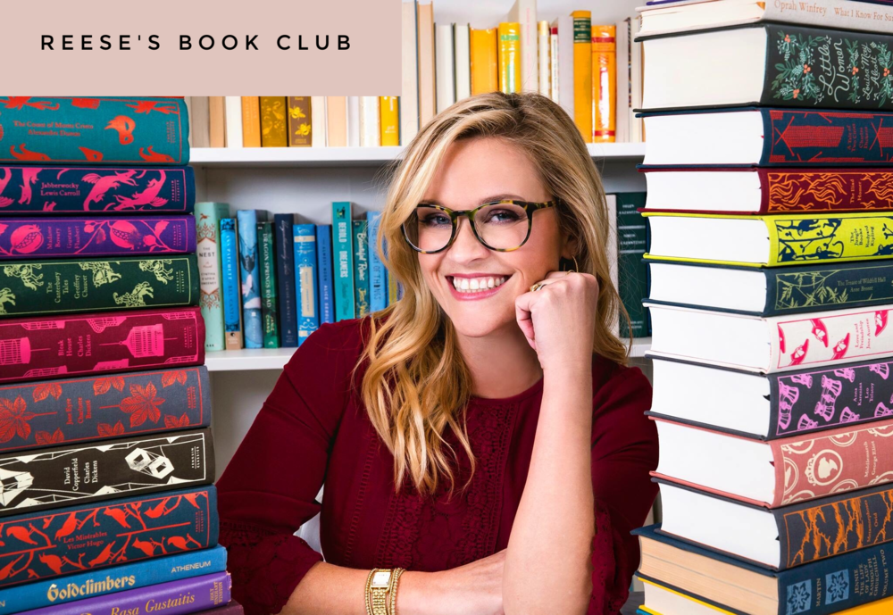 Image: Reese Witherspoon, RW Book Club
