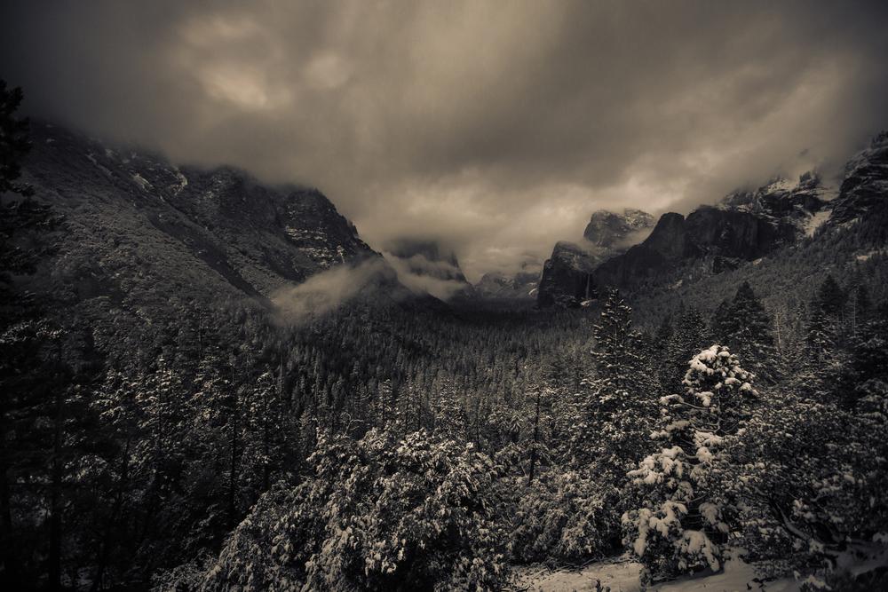Tunnelview, Yosemite
