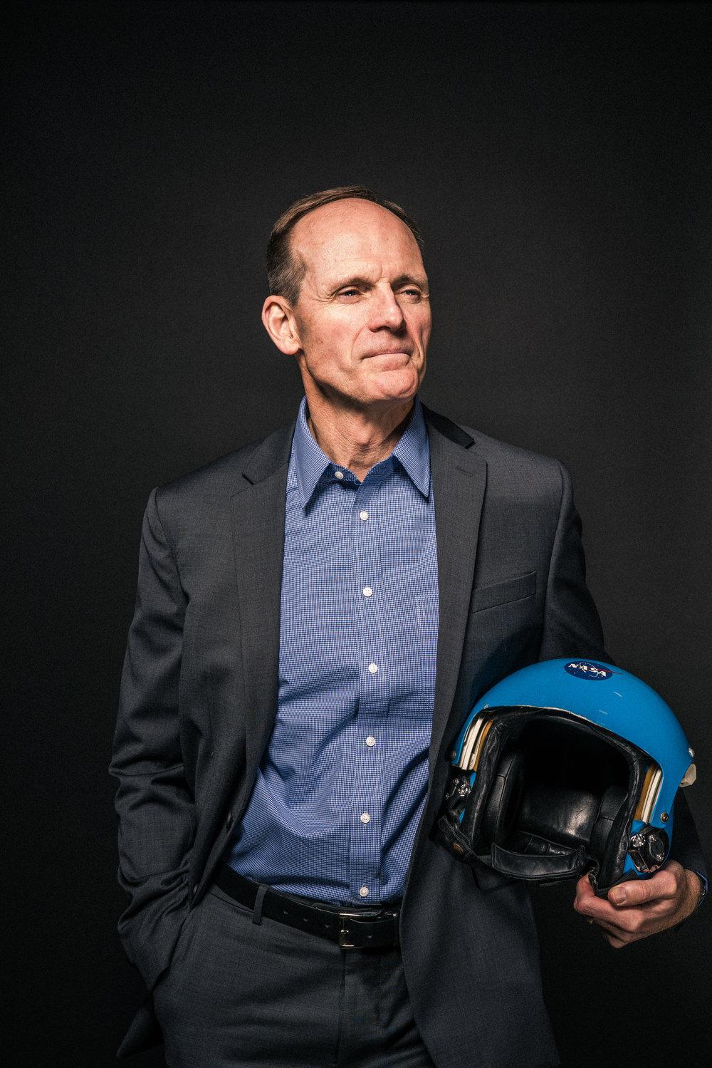 Steve Smith, former NASA astronaut