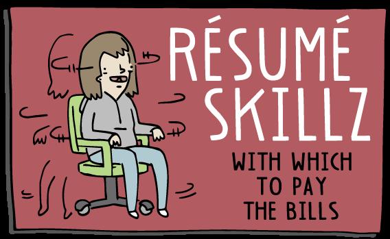 Resume Skillz Honey Dill