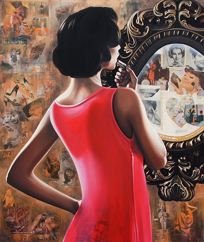 Ryan Jones Art Reflections Of The Past