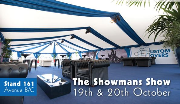 Visit the Custom Covers stand at Newbury on 19th and 20th October.