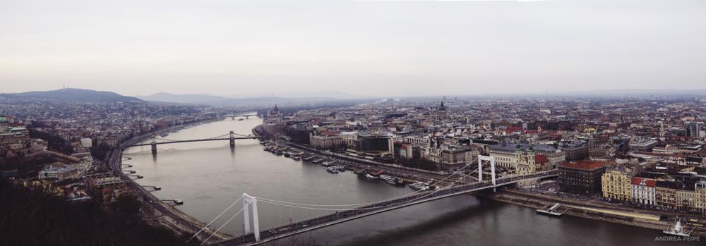 View of Budapest from Gellért Hill
