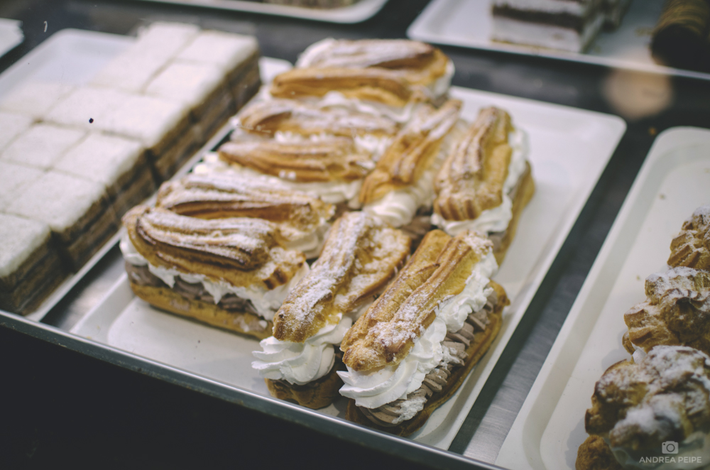 Eclairs in the Great Market Hall