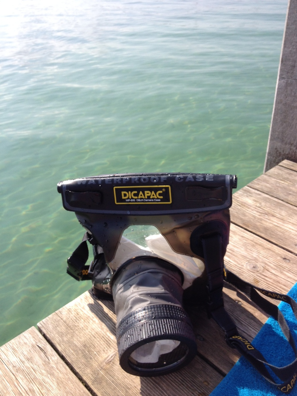 My DiCaPac WP-S10 ready for action :D
