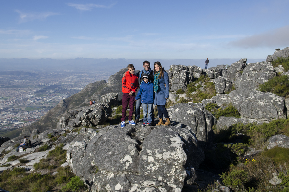 My little family, Table Mountain 2014
