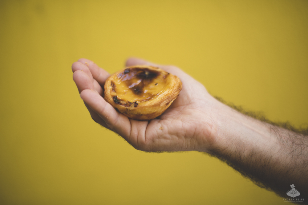 One of the yummy Pasteis de Nata!