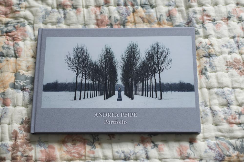 Cover meines Portfolio Buchs