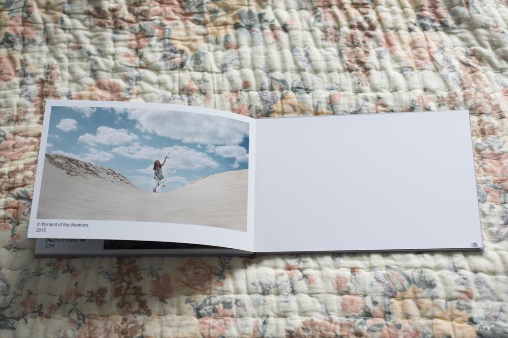 Die letzten beiden Seiten - die rechte ist schon auf die Rückseite des Buchs geklebt