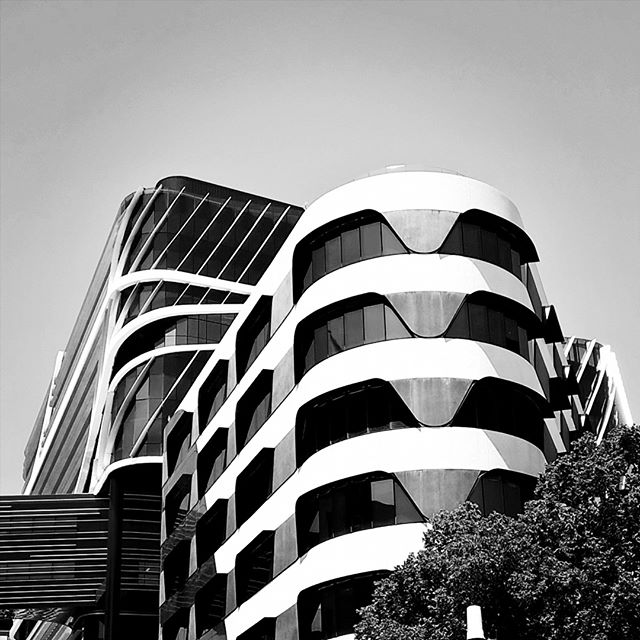 #architecturelovers #monochrome #blackandwhite #architecture #fascade #pattern #Melbourne #streetphotography #modernarchitecture #perspective #Parkville #geometricabstraction #minimalism #abstract  #northmelbourne