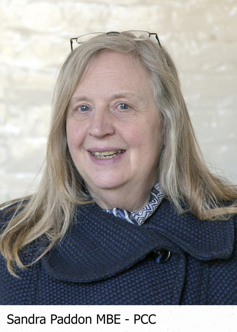 Sandra Paddon MBE