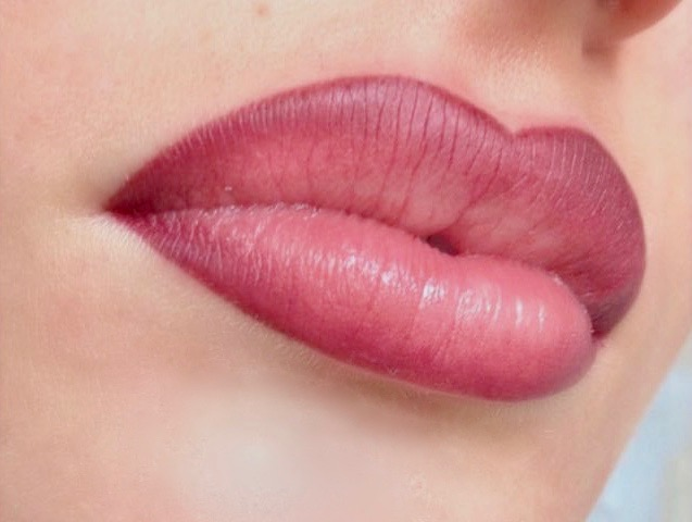 Lippen conture make up