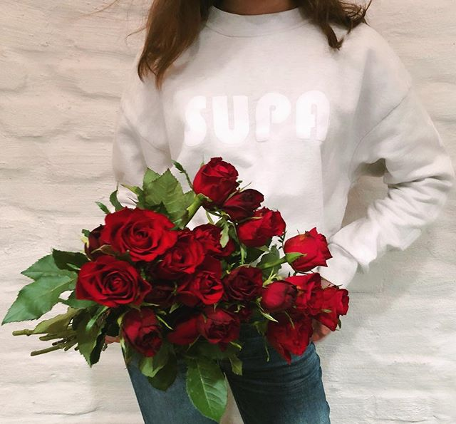 Less than a week to Valentine's Day. You can win a SUPA sweatshirt for you and your bestie. Go to @supafemme for details! ❤️❤️ EU residents only. #supafemme #giveaway #valentinesday #haveasupadaydar