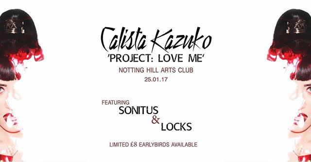 @nhaclub we're coming for you in 9 days time, supporting @calistakazuko for her Project Love Me campaign ❤❤ #Excited #WestLondon #LiveMusic #bandoftheday